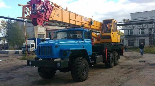 Аренда автокрана-вездехода Углич (35 тонн)