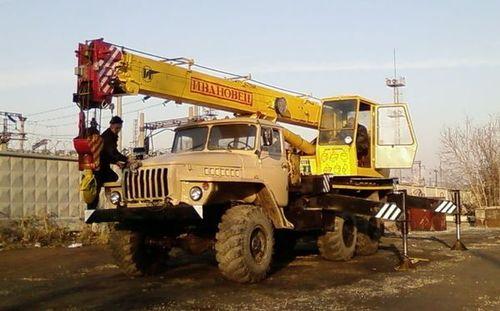 Аренда автокрана-вездехода Ивановец (14 тонн)