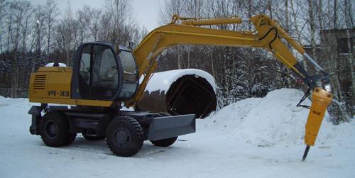 Гидромолот на экскаватор 15 тонн