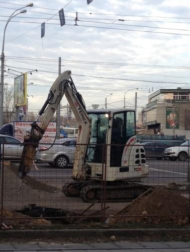 Аренда мини-экскаватора TEREX TC 35