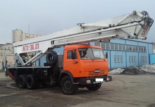 Аренда автовышки АГП-36