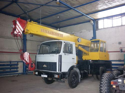 Автокран Ивановец (16 тонн)