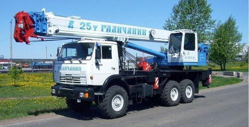 Аренда автокрана-вездехода Галичанин (25 тонн)