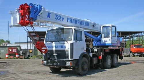 Автокран Галичанин (32 тонны)