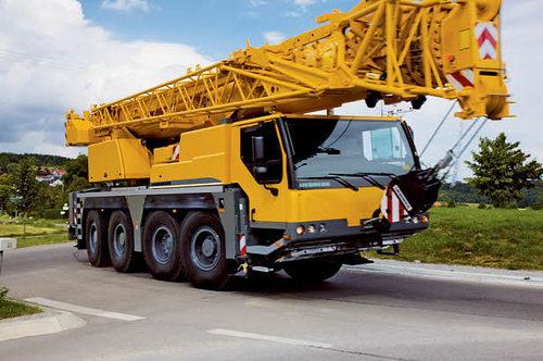 Автокран Liebherr LTM 1070 (70 тонн)