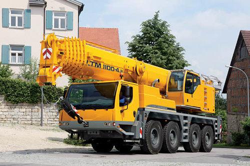 Автокран Liebherr LTM 1100 (100 тонн)