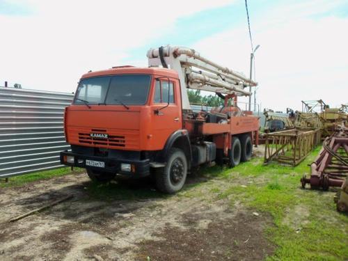 Аренда бетононасоса КАМАЗ АБН 75/21 - 21 м