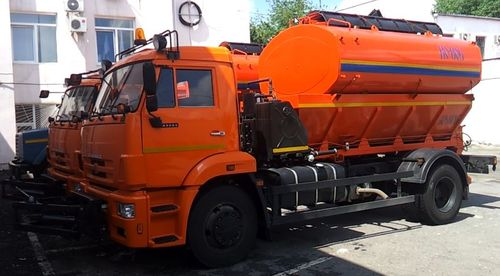Поливомоечная машина на базе КАМАЗ 4325 (8 м3)