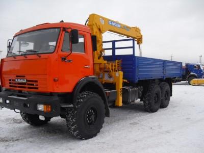 Манипулятор КАМАЗ-65117 (вездеход)