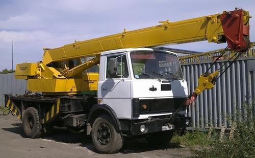 Аренда услуг автокрана 14 тонн в Верее