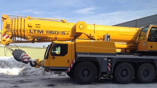 Аренда услуг автокрана 160 тонн в Апрелевке