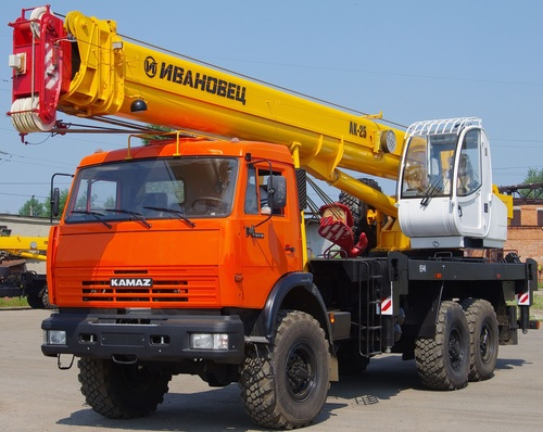Аренда услуг автокрана 25 тонн в Орехово-Зуево