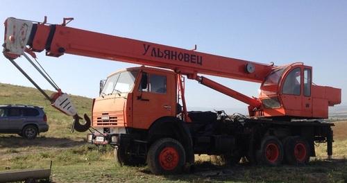 Аренда услуг автокрана 30 тонн в Краснознаменске