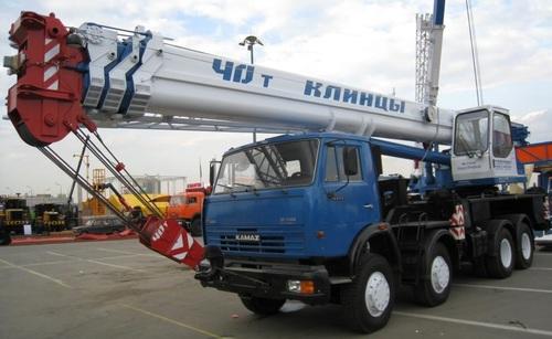 Аренда услуг автокрана 40 тонн в Малоярославце