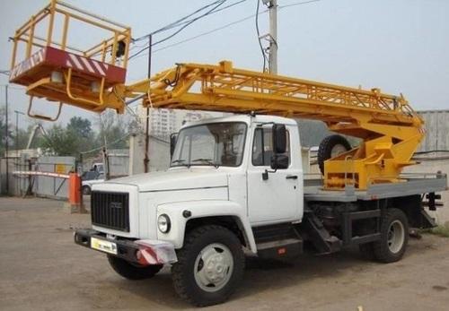 Аренда услуг автовышки 17 метров в Жукове