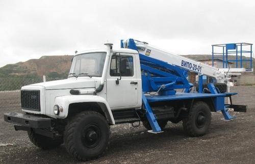 Аренда услуг автовышки 20 метров в Куровском