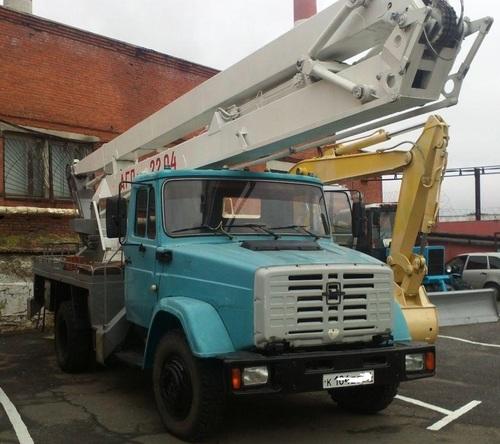 Аренда услуг автовышки 22 метра в Наро-Фоминске