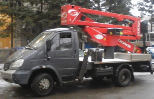 Аренда услуг автовышки 24 метра в Рузе