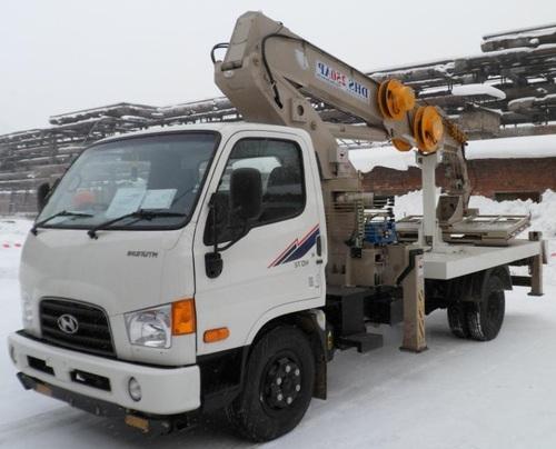 Аренда услуг автовышки 25 метров в Боровске
