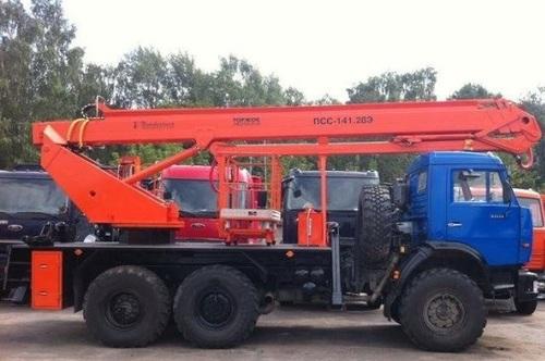 Аренда услуг автовышки 28 метров в Дзержинском